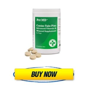 Pet MD - Canine Tabs Plus 365 Count